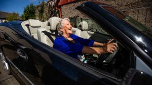 Eileen Sweetman converts cocooning to a 5k road trip in North County Dublin. Pic: Mark Condren