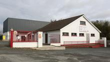 The test centre opened yesterday (Monday) at Ferns GAA Club