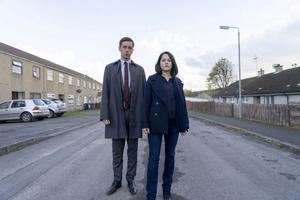 Dublin Murders - Rob (Killian Scott), Cassie (Sarah Greene) - (C) Euston Films