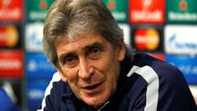 Manchester City manager Manuel Pellegrini believes his side can still win the Champions League