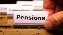 Pensions have been pushed back on to the political agenda here by pre-election promises to reverse the raising of the pension age (stock photo)