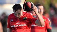 A dejected Tommy O'Donnell after Munster's defeat to Saracens