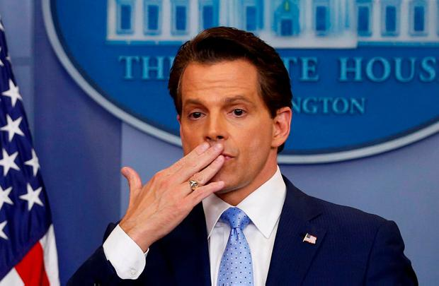 Former White House media chief Anthony Scaramucci. Photo: REUTERS