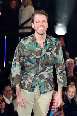 Perez Hilton entering the Celebrity Big Brother house at the start of the latest series of the Channel 5 programme at Elstree Studios, Borehamwood.