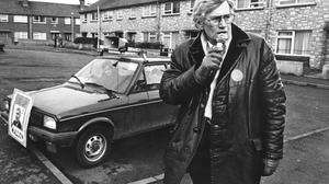 Seamus Mallon on the canvass for the SDLP in the 1980s