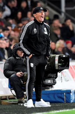West Brom manager Tony Pulis felt his side should have been awarded a penalty Photo: Reuters / Rebecca Naden