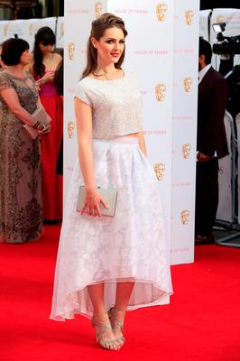 LONDON, ENGLAND - MAY 10:  Anna Passey attends the House of Fraser British Academy Television Awards (BAFTA)  at Theatre Royal on May 10, 2015 in London, England.  (Photo by John Phillips/Getty Images)