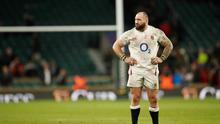 England prop Joe Marler is facing a possible ban after grabbing Alun Wyn Jones' testicles during his side's lastest Six Nations victory. Action Images via Reuters/Andrew Boyers