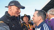 Sideline stares: Kilkenny manager Brian Cody and Wexford boss Davy Fitzgerald are used to competing for honours against each other. Photo: Sportsfile
