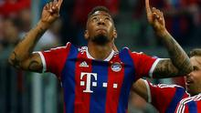 Bayern Munich's Jerome Boateng celebrates scoring their second goal