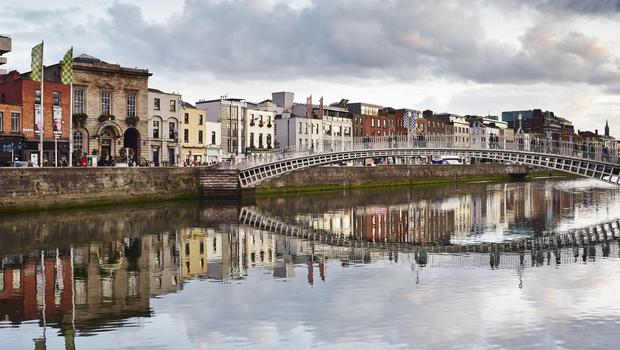 Dublin's River Liffey impresses the Huffington Post