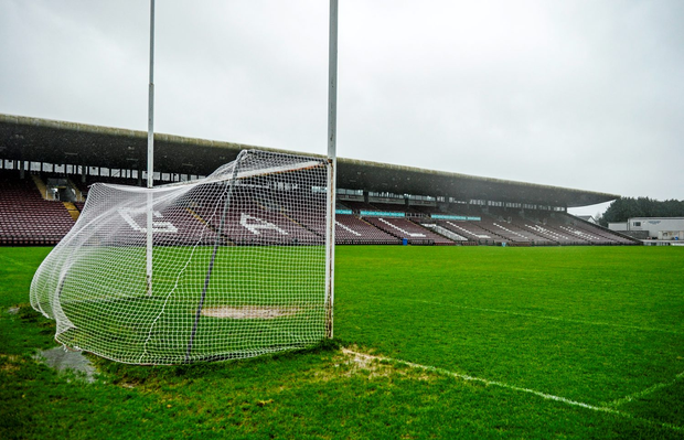 'Melia's point just after the midway stage of the second half put Kildare ahead but that was as good as it got for the home team' Stock photo: Sportsfile
