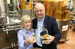 DENISE AND PJ RIGNEY The Shed Distillery, Drumshanbo, Co Leitrim. Photo: Brian Farrell
