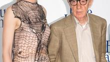 """PARIS, FRANCE - AUGUST 27:  Actress Cate Blanchett and director Woody Allen attend the """"Blue Jasmine"""" Paris premiere at UGC Cine Cite Bercy on August 27, 2013 in Paris, France.  (Photo by Marc Piasecki/WireImage)"""