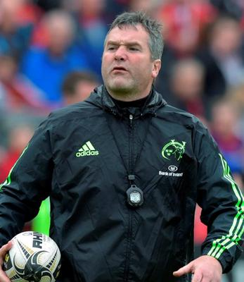 Munster coach Anthony Foley