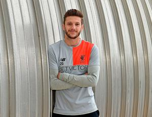 'I would love a bit of silverware with Liverpool,' says Adam Lallana, who will face Manchester City tomorrow. Photo by John Powell/Liverpool FC via Getty Images