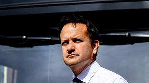 Taoiseach Leo Varadkar at the launch of a public awareness campaign on the wearing of face masks.  Picture; Gerry Mooney
