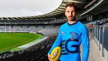 Zach of all trades: Zach Tuohy of the Geelong Cats pictured at the GMHBA Stadium in Geelong. Photo: Sportsfile