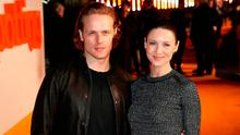 Sam Heughan (left) and Caitriona Balfe arriving at the world premiere of Trainspotting 2 at Cineworld in Edinburgh.