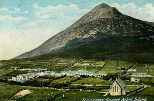 SECT: A postcard of the Colony at Dugort
