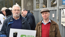 Malting barley growers protest over the price they receive for their product.