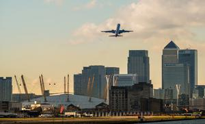 London City Airport, London, England - UK