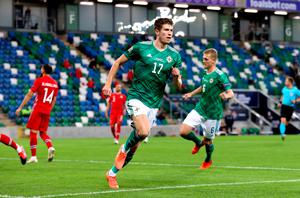 Paddy McNair scored for Northern Ireland