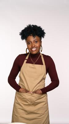 Loriea was born and raised in Jamaica and loves celebrating her Caribbean heritage (C4/Love Productions/Mark Bourdillon)