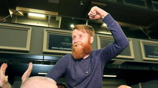 Controversial comments:  MMA fighter Paddy Holohan. Photo: Frank McGrath
