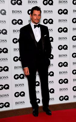 David Gandy attends the GQ Men Of The Year Awards at The Royal Opera House on September 8, 2015 in London, England.  (Photo by Gareth Cattermole/Getty Images)