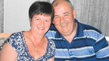 Victims of the Tunisian beach massacre, Martina and Laurence Hayes