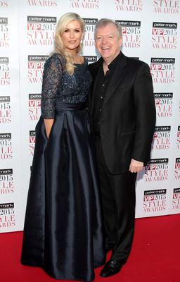 LIsa and Paul Fitzpatrick on the Red Carpet at The Peter Mark VIP Style Awards 2015 at The Marker Hotel,Dublin. Pictures Brian McEvoy