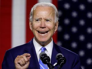 Covid opportunity: Crisis offers chance to build a stronger more resilient US economy Joe Biden (pictured) said yesterday in Delaware. Photo: Reuters
