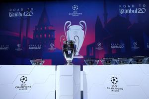 Istanbul was set to host the men's Champions League showpiece on May 30, while the Europa League final was due to take place on May 27 in Gdansk but both have now been postponed. Photo: REUTERS