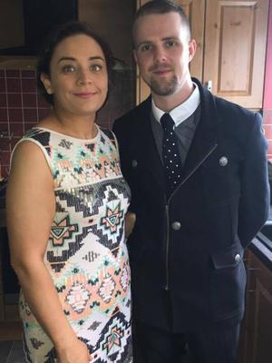 Laura began talking to Matthew Baird online, and the pair have recently celebrated their first anniversary.