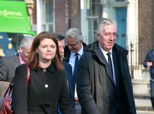 Rea Walshe and her former boss John Delaney