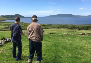 "Taken in Loher, Co. Kerry, Eilís Murphy's photo shows her father (84) counting his cows and sheep. She left Ireland in 1996, and now lives in Boston. ""We don't appreciate this beauty until you leave and return to Ireland. I have so many friends ask me why did I leave such a beautiful country."""