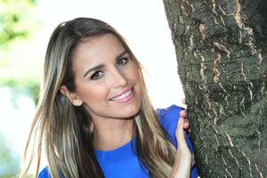 Vogue Williams, takes tea with Andrea Smith..