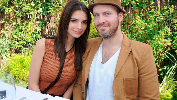 Emily Ratajowski and Jeff Magid attends the Maison De Mode Oscar week lunch hosted by Rosario Dawson, Amanda Hearst, Hassan Pierre & Spotify at Petit Ermitage on February 18, 2015 in West Hollywood, California.  (Photo by Angela Weiss/Getty Images for Maison de Mode)