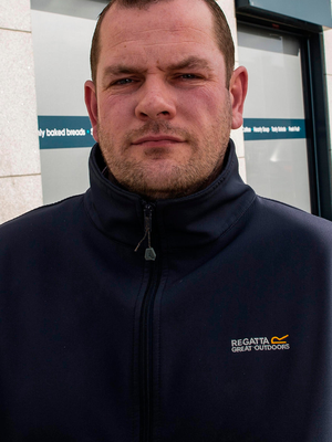 Store owner Dave Curran