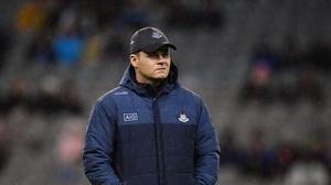 Dublin manager Dessie Farrell has added Brian O'Regan to his coaching ticket. Photo by Seb Daly/Sportsfile