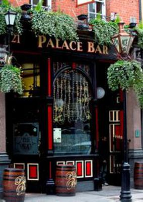 Old time: The Palace Bar on Fleet Street, one of Dublin's best loved Victorian bars
