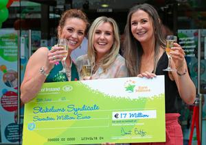 Recent winners Alicia Fanning, Laura Stakelun and Nicola Sammon. Photo: Collins