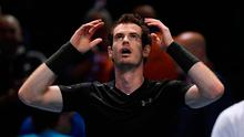 Andy Murray celebrates winning the final against Serbia's Novak Djokovic Picture: Reuters