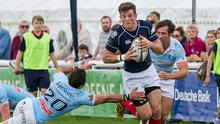 Peter Lydon in action for London Scottish