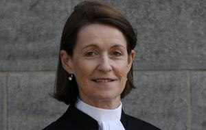 Ms Justice Mary Irvine. Photo: Collins Courts
