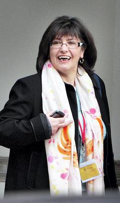 Josephine Feehily, chairman of Garda Authority and former Chairman of the Revenue Commissioners