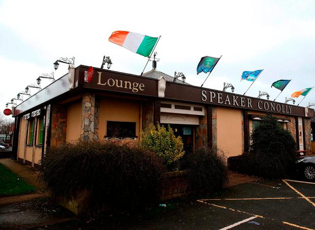 The Speaker Connolly pub in the Firhouse area of Dublin. Photo: Brian Lawless/PA