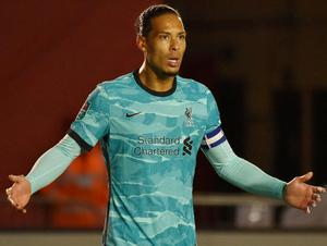 Virgil van Dijk is one of the main reasons that Liverpool have turned Anfield into a fortress