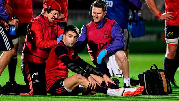 Conor Murray was not happy with how he was targeted by the Glasgow Warriors